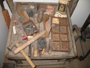 arte da scarpèr (Museo etnografico di Padola)