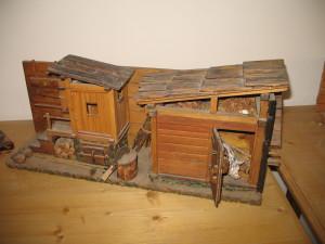 s-ciadìzo (a destra) (miniatura) (Museo etnografico Padola)