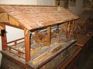 siéga (miniatura) (Museo etnografico di Padola)